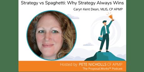 strategy vs spaghetti