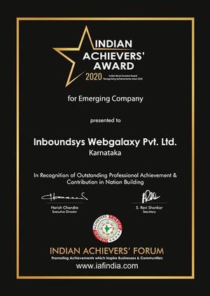 Inboundsys Award