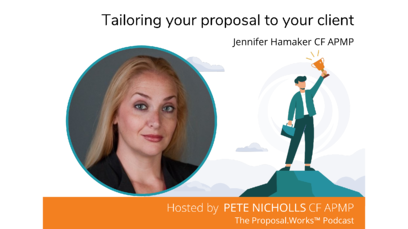 Tailoring your proposal to your client