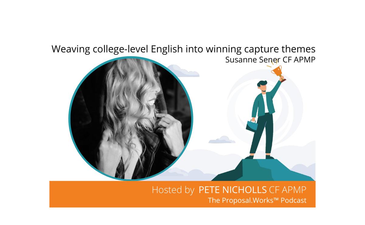 Weaving college-level English into winning capture themes - Susanne Sener